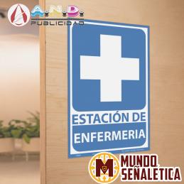 Señalética Estación Enfermería