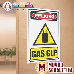Señalética Gas GLP
