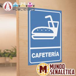 Señalética Cafetería
