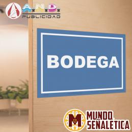 Señalética Bodega