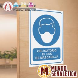 Señalética Obligatorio El...