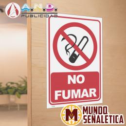 Señalética Prohibido Fumar