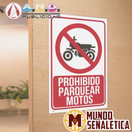 Señalética Prohibido...