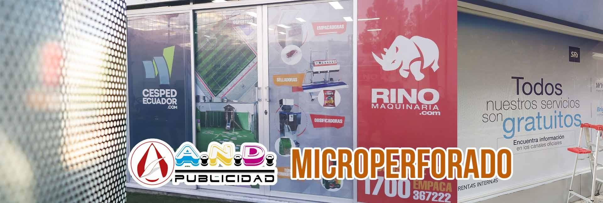 Decora tus espacios con microperforado
